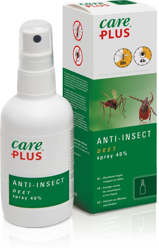 Care plus a-insec - Deet 40% spray -  100 ml - 1 stuk