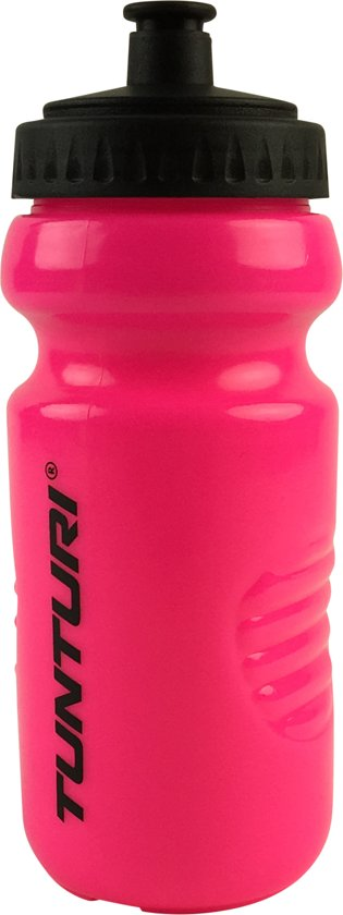 Tunturi Sportbidon - Bidon - drinkfles - Drinkbus - 500 ml Roze