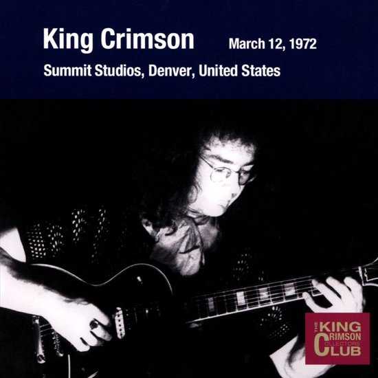 Collector's Club: 1972.3.12 Denver, Summit Studio
