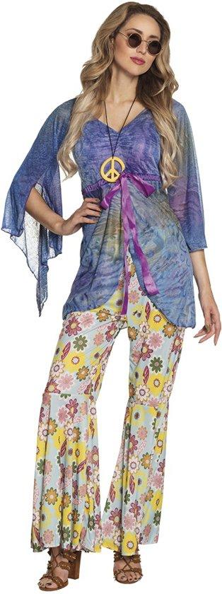 Hippy Bloemenvrouw - Kostuum - Maat 36/38