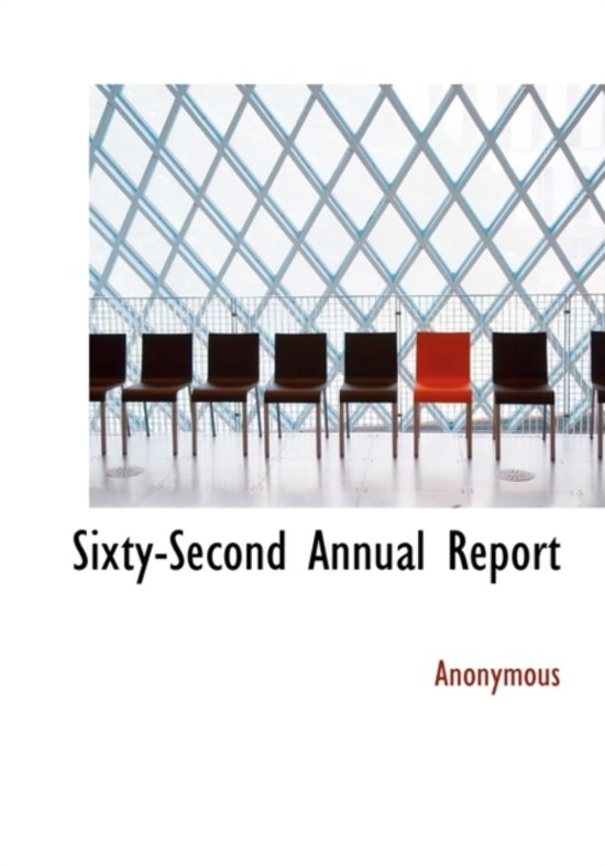 Sixty-Second Annual Report
