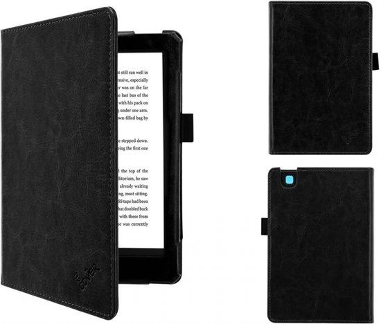Kobo Aura 2nd edition 6 inch eReader Sleep Cover, Premium Business Case,  Betaalbare zwarte Hoes-Sleepcover voor Kobo Aura editie 2 (2016), sleeve /