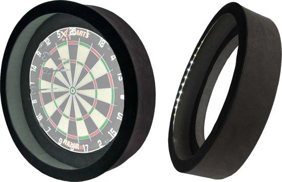 dragon 360 20 zwart 2 in 1 dartbord verlichting inclusief beschermring