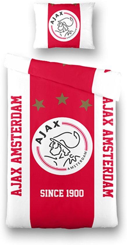 Ajax dekbedovertrek eenpersoons 140 x 200 cm for Ajax kussen