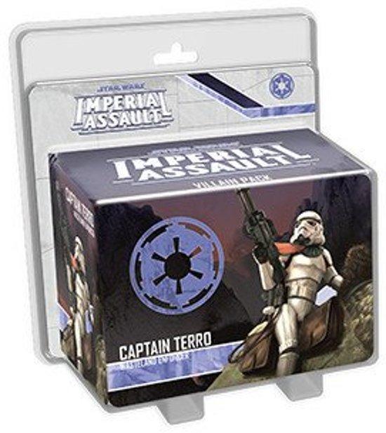 Afbeelding van het spel Star Wars Imperial Assault - Captain Terro Villian Pack