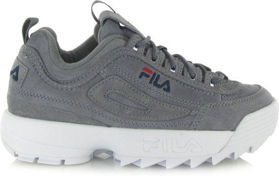 c7ae967723d Fila Disruptor S Low Wmn 1010436-6QW, Vrouwen, Grijs, Sneakers maat: