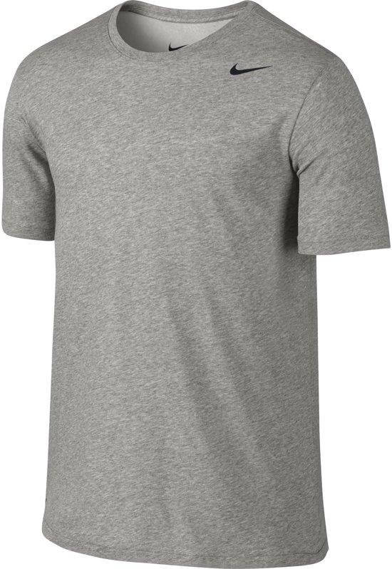 1e551f69cb0 bol.com | Nike Dri Fit Version - Sportshirt - Heren - Maat S - Grijs