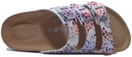 Rohde Slipper 5620 Multicolor Wit 38