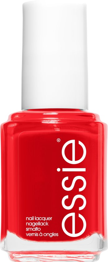 essie lacquered up 62 - rood - nagellak