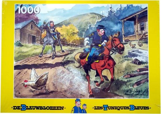 De Blauwbloezen - Legpuzzel - 1000 Stukjes