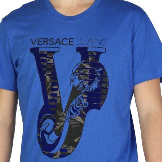 Versace Jeans - T-shirts - Heren - B3GSB75C_36591 - Blue