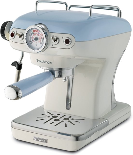 Ariete Espressomachine Vintage \ Blauw