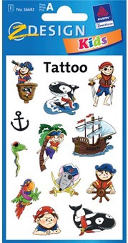 Piraten tatoos
