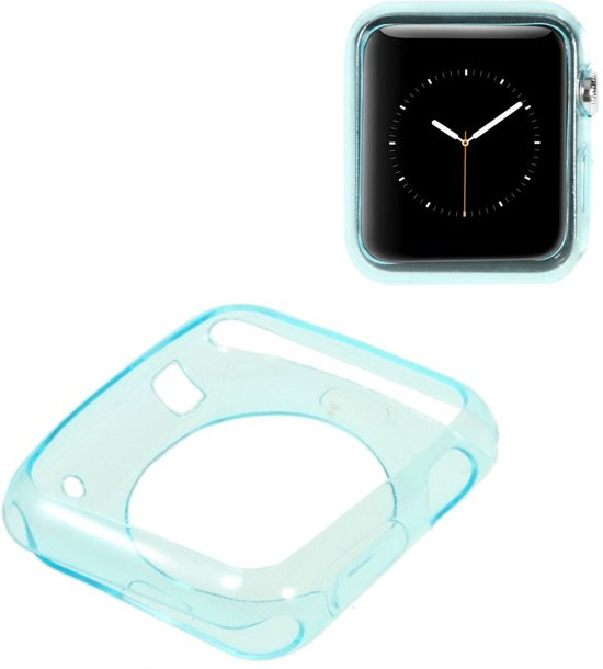 Apple Watch Sport 42mm Hoesje Lichtblauw, extra dun