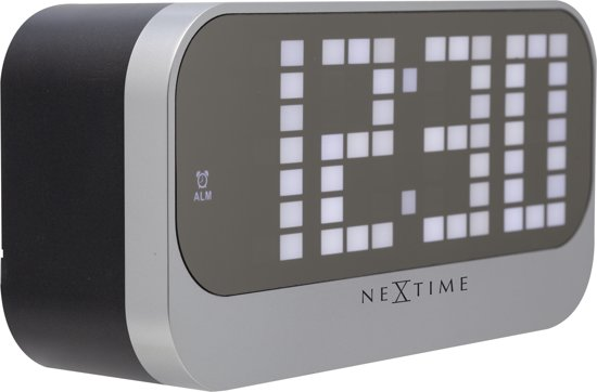 NeXtime Loud Alarm Alarmklok 8,5 x 8,5 cm