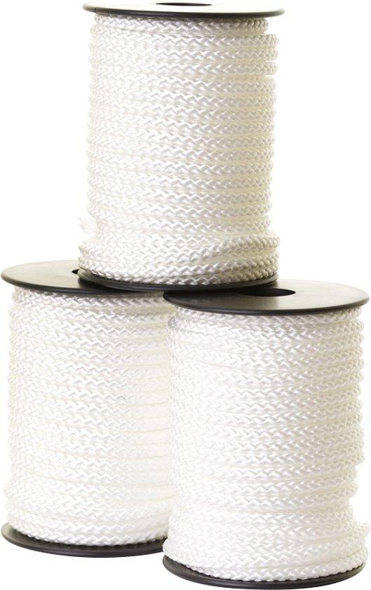 6mm PP vismagneet 20meter touw op klos / 750kg breekracht / touw voor magneetvissen