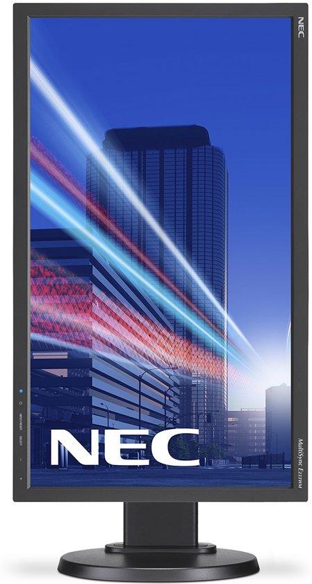 NEC MultiSync E233WM 23'' Full HD LED Flat Zwart computer monitor