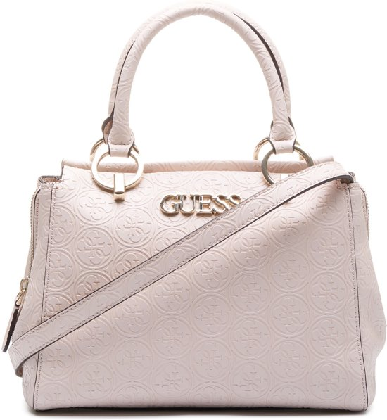0d2ba550769 bol.com | Guess Heritage Pop Girlfriend Dames Handtas - Blush