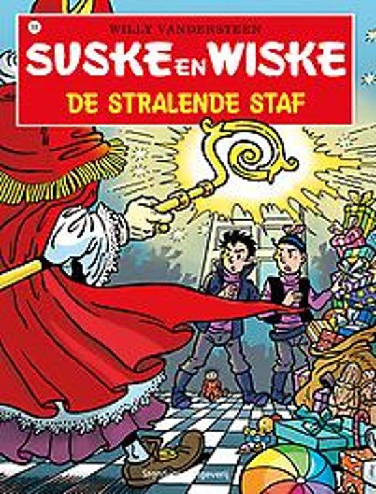Boek cover Suske en Wiske 306  - De stralende staf van Willy Vandersteen (Paperback)