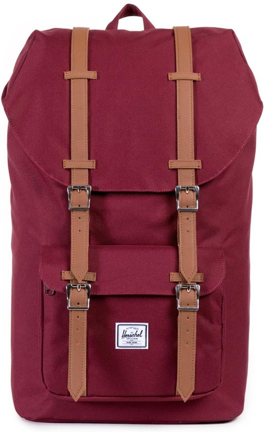 Herschel Supply Co. Little America - Rugzak - Windsor Wine / Tan PU