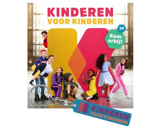 CD cover van Kinderen voor Kinderen 39 - Kom Erbij! (Inclusief Sleutelhanger) (uitverkocht) van Kinderen voor Kinderen