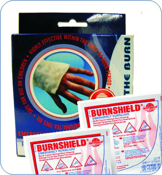 Burnshield Twin Pack 10x10cm