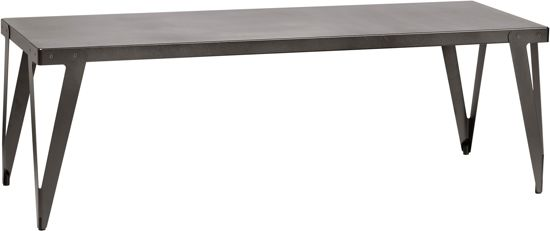 Functionals Lloyd Table tafel zwart 200x90x76 cm