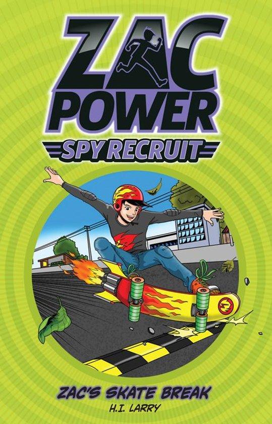 Zac Power Spy Recruit: Zac's Skate Race