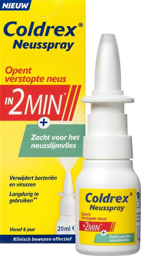 Coldrex neusspray - voor een verstopte neus - 20 ml