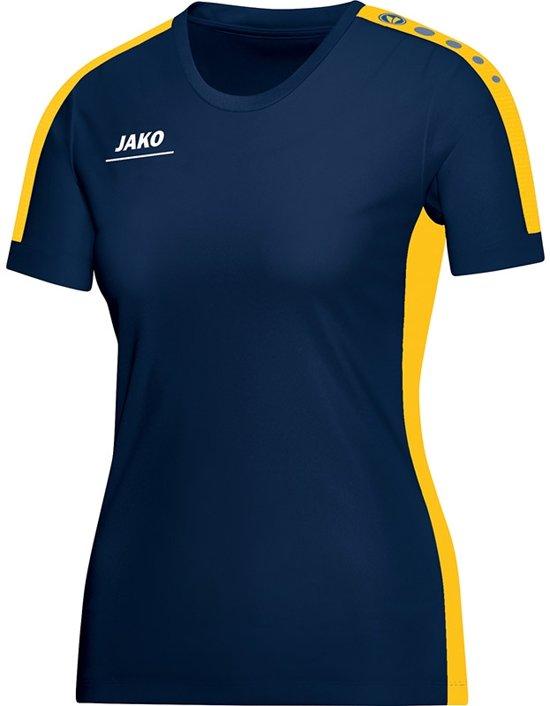 Jako Striker Indoor Shirt Dames - Shirts  - blauw donker - 38