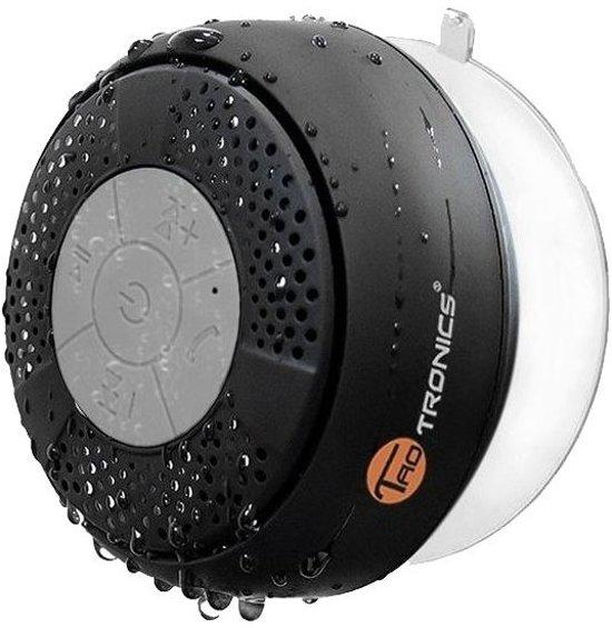 bol.com | TaoTronics Bluetooth Shower Speaker - Waterdicht - Zwart