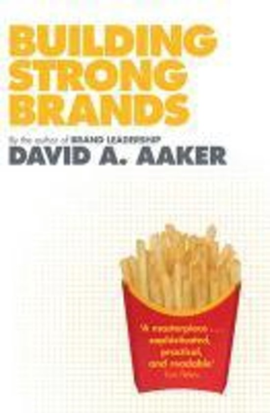 Bol Building Strong Brands David A Aaker 9781849830409