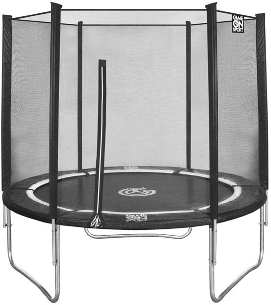 Game On Sport Trampoline Jumpline 366 zwart