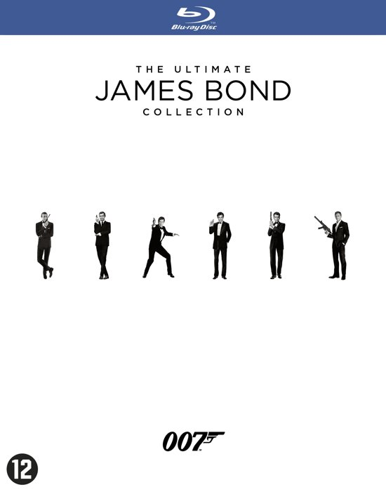 Bond Box Collection - 23 films (Blu-ray)