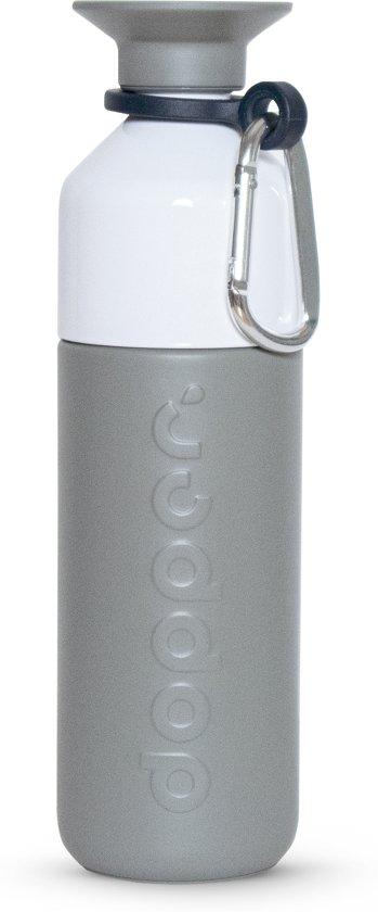 Dopper Insulated Thermosfles + Dopper Carrier - 580 ml - Glacier Grey