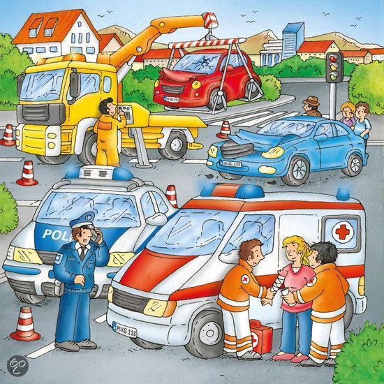 Ravensburger 3 in 1 Puzzel - Hulp bij Ongeval