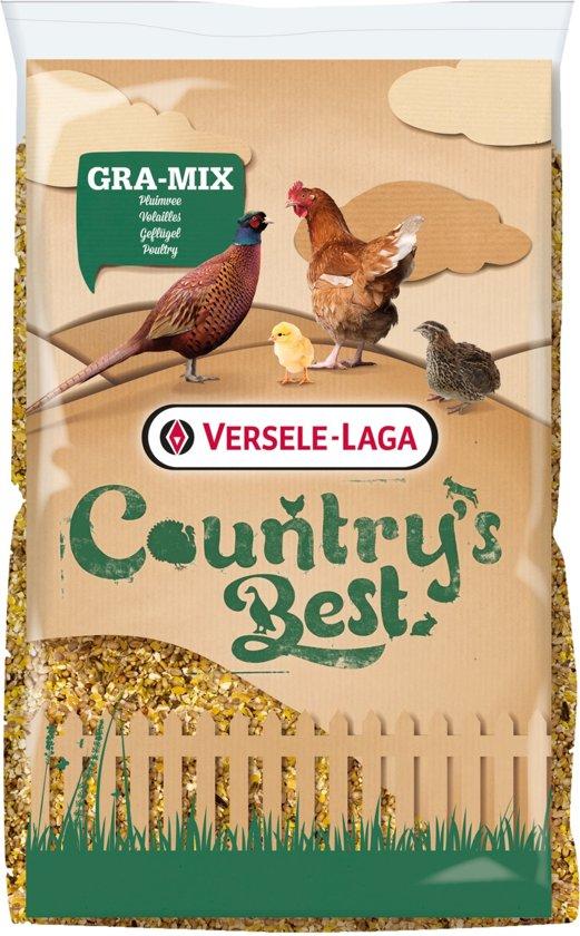 Versele-laga country's best gra-mix pluimveemix met grit