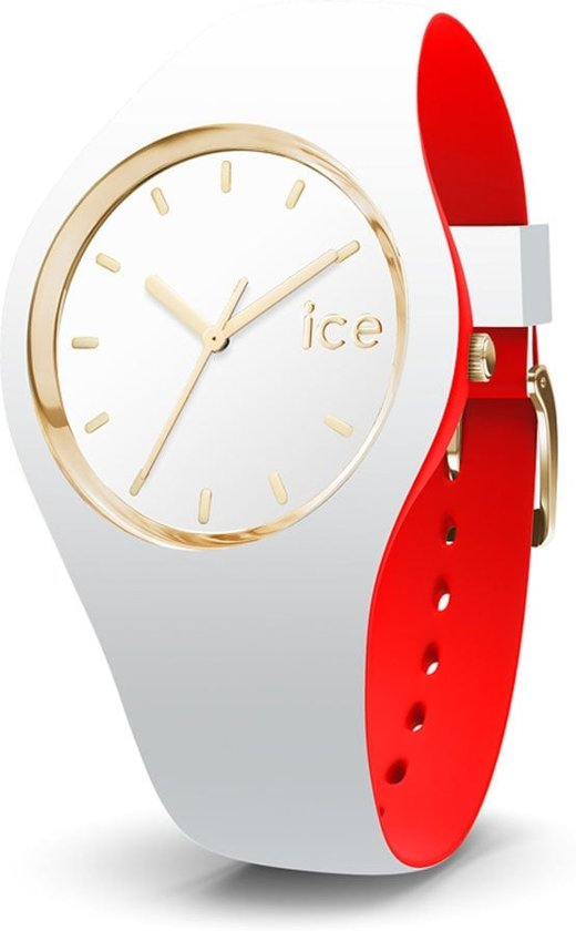 Ice Watch ICE loulou IW007230 Horloge - Siliconen - Wit - 35,5 mm