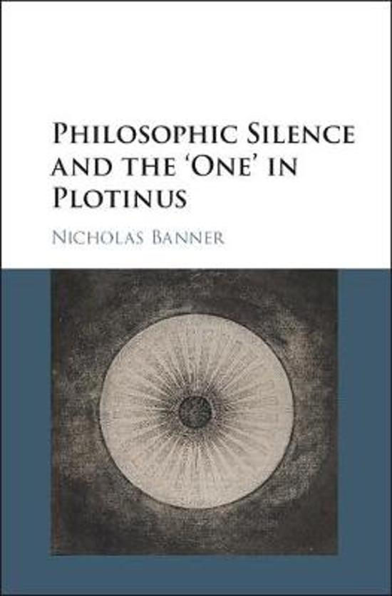 Philosophic Silence and the One' in Plotinus