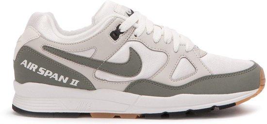 bol.com | Nike Air Span Ii Sneakers Dames Beige/groen Maat 40