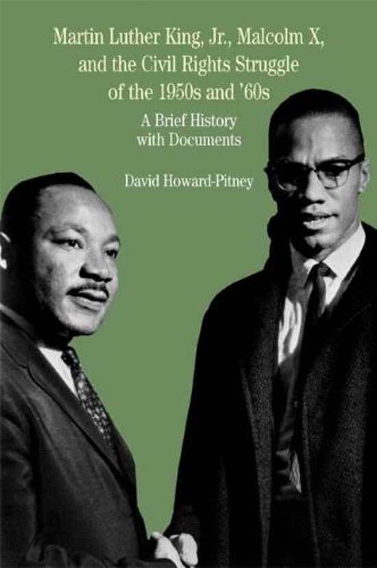 Afbeelding van Martin Luther King, Jr., Malcolm X, and the Civil Rights Struggle of the 1950s and 1960s