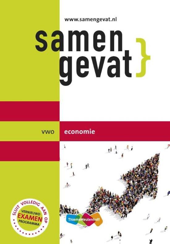 Boek cover Samengevat - vwo Economie 6e druk van J.P.M. Blaas (Paperback)