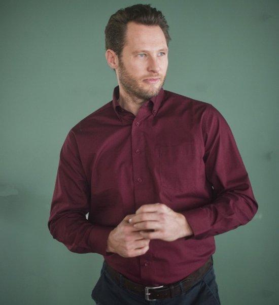 Bordeaux Overhemd.Bol Com Gcm Heren Overhemd Bordeaux Print Maat L