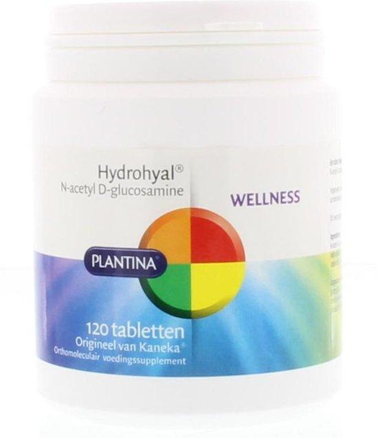 Plantina HydroHyal - 120 Tabletten - Voedingssupplement
