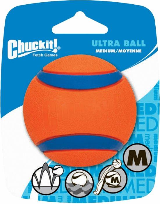 Chuckit! - Ultra Ball - M - Oranje - 6,5 cm