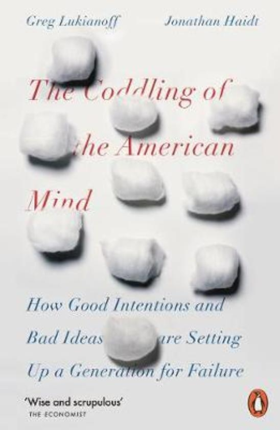 Boek cover The Coddling of the American Mind van Jonathan Haidt (Paperback)
