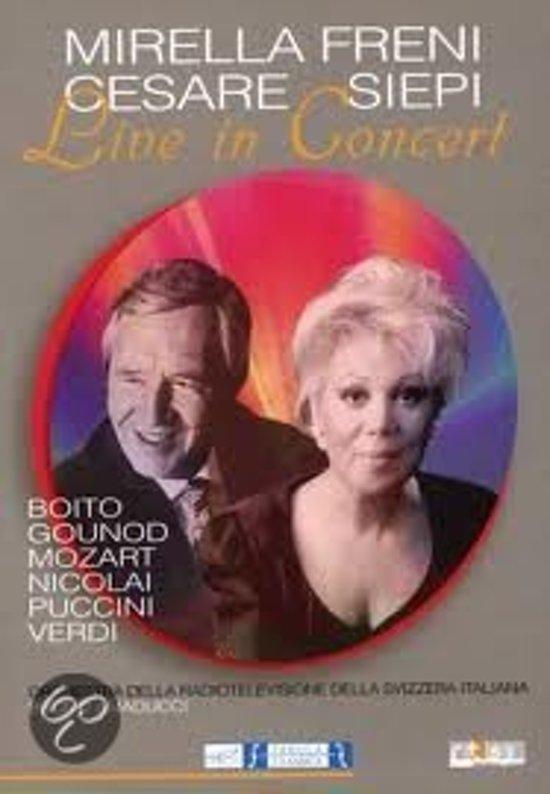 Mirella Freni - Cesare Siepi - Live In Concert