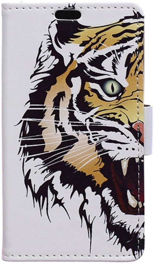 LG G6 Portemonnee Print Hoesje Tijger in Hoek van de Dijk