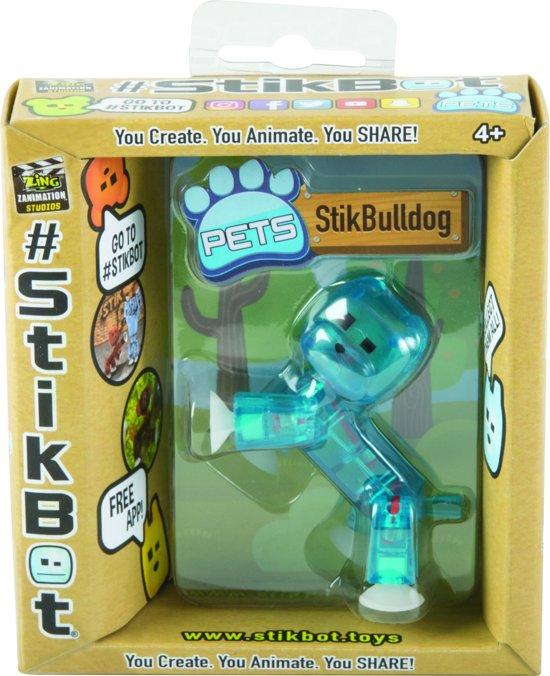 Afbeelding van het spel Stikbot Pet Bulldog