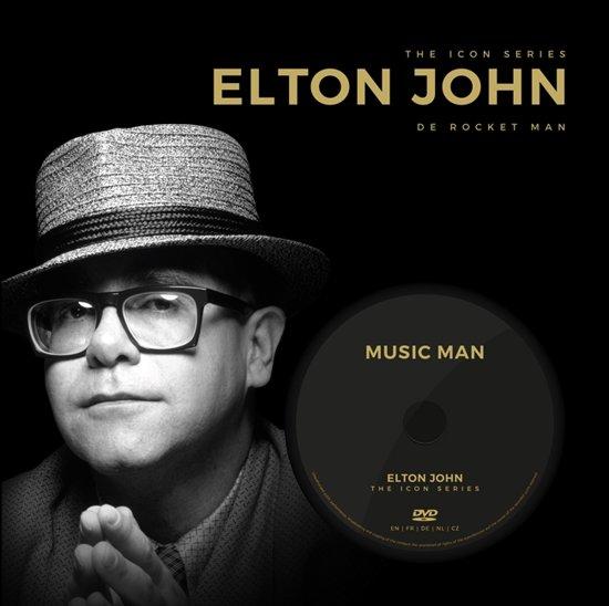 Boek cover The Icon Series - Elton John van  (Hardcover)